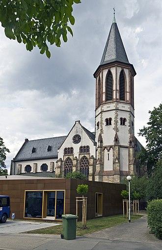 Ginsheim-Gustavsburg - Gustavsburg Catholic church (Herz-Jesu-Kirche)