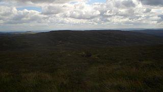Cefn Gwyntog mountain in the United Kingdom