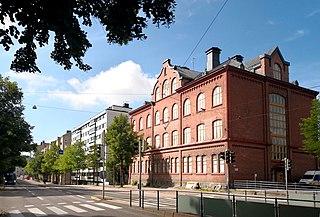 Vallila Helsinki Subdivision in Uusimaa, Finland
