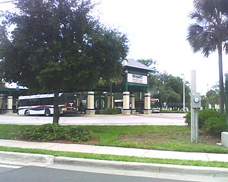 Hillsborough Area Regional Transit - The University Area Transit Center west of the USF Medical Center.