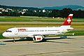 HB-IJL A320-214 Swiss Intl Al ZRH 19JUN03 (8536535374).jpg