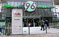 HDI-Arena Hannover 96, Aussteller und Besucher vor dem Eingang zur Wirtschaftsmesse Hannover 2013.jpg
