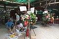 HK 西營盤 Sai Ying Pun 香港 中山紀念公園 Dr Sun Yat Sen Memorial Park 香港盂蘭勝會 Ghost Yu Lan Festival offering flower sign Sept 2017 IX1.jpg