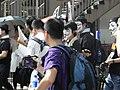 HK Causeway Road July 1 march 2010 面具人 Mask team members 03.JPG