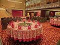 HK Jordan Nathan Road 香港逸東酒店 Eaton Hotel Hong Kong Banquet ballroom interior round tables Jan-2014 002.JPG