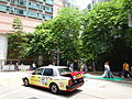 HK Sheung Wan Queen's Road West Queen's Terrace garden trees July-2015 DSC Heung Hing Lane.JPG