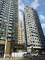 HK Tin Hau Electric Road Diva Hemispheres morning facades n Sep-2015.JPG