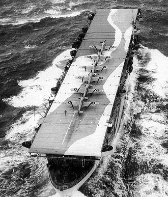 HMS Avenger (D14) - Image: HMS Avenger 2 edit