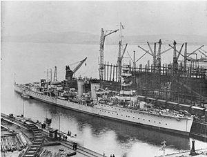 HMS Caradoc (D60) - Image: HMS Caradoc