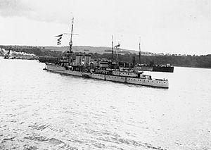 HMS Champion (1915) - Image: HMS Champion