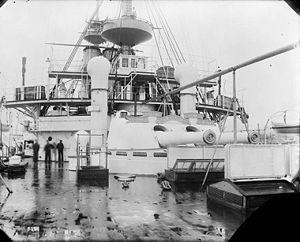 BL 10 inch gun Mk I – IV - Aft guns of HMS ''Renown''