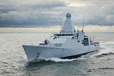 Zr. Ms. Holland, a Royal Netherlands Navy offshore patrol vessel HNLMS Holland.jpg
