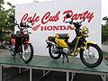 HONDA CrossCub CC110 at CafeCub Party in Kyoto 2013 02.JPG