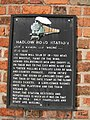 Hadlow Road Station, Information Plaque - geograph.org.uk - 679290.jpg