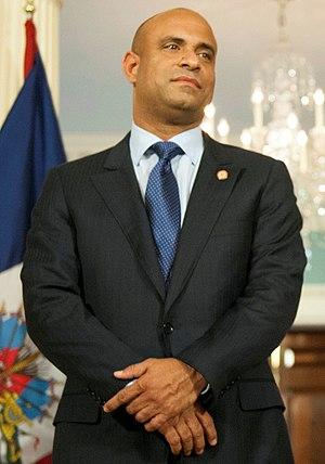 Laurent Lamothe - Image: Haitian Prime Minister Lamothe 2014