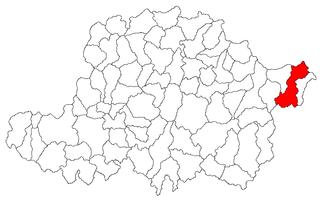 Hălmagiu Commune in Arad, Romania