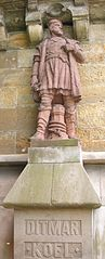 Statue of Ditmar Koel
