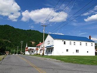 Hampton, Tennessee - Buildings along 1st Avenue