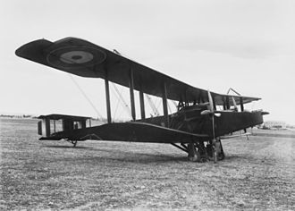 Maxstoke air crash - A Handley Page O/400 similar to the accident aircraft