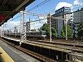 Hankyu Kasuganomichi Station platform - panoramio (16).jpg
