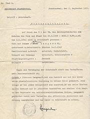 Hans Langmantl Haftbefehl JS
