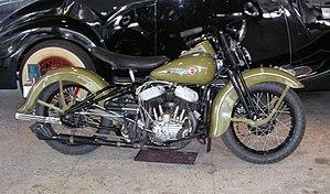 Harley-Davidson Sportster - 1947 Harley-Davidson mod. WL 739 cc engine