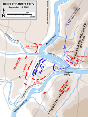 Battle of Harpers Ferry - Battle of Harpers Ferry