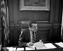 Harvey Milk in 1978 at Mayor Moscone's Desk.jpg