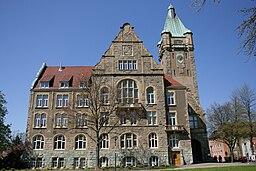 Hattingen Rathausplatz Rathaus 03 ies