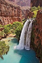 آبشار هاواسو در ایالت آریزونا