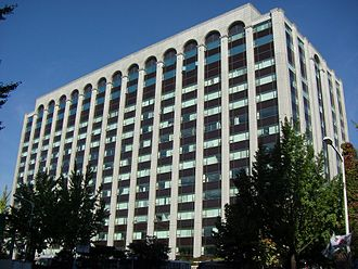 Hyundai - The former headquarters of Hyundai in Seoul, South Korea