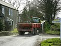 Heavy traffic near North Wraxall - geograph.org.uk - 1210614.jpg