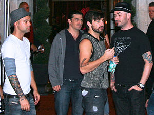 Hedley (band) - Hedley at the 2009 Toronto International Film Festival