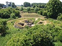 Heerewaarden (NL), 2010-06-27 14.20, Restanten Nieuw Fort St. Andries.jpg