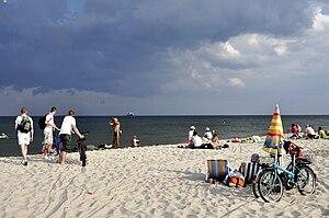 Strand bei Hel