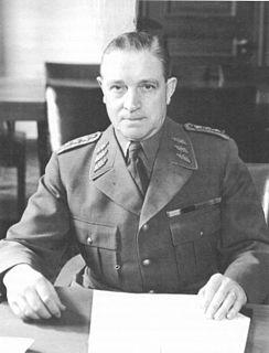 Helge Jung Swedish general and supreme commander