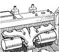 Helmholtz resonator exhaust manifold (Autocar Handbook, 13th ed, 1935).jpg