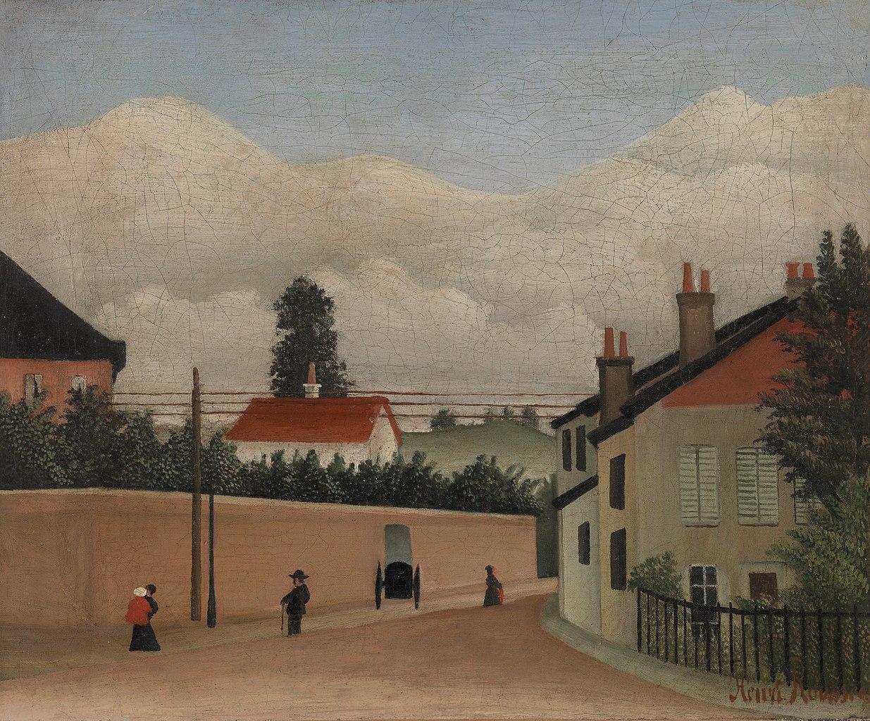 File:Henri Rousseau - Outskirts of Paris (Environs de Paris) - BF844 ...