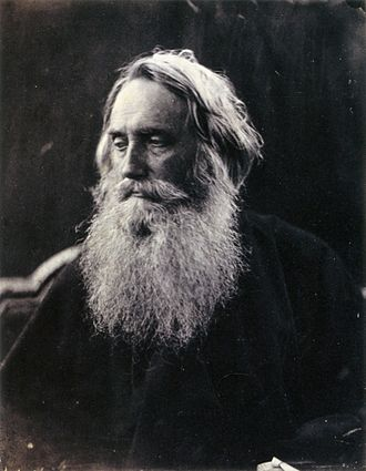 Henry Taylor (dramatist) - Henry Taylor, photographed by Julia Margaret Cameron, for whom he was a regular sitter. The beard was grown after illness made him wary of shaving himself. Millais wished (in vain) to have Taylor model for him as Moses.