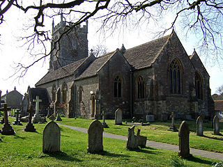 Henstridge village in the United Kingdom