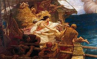 In Greek mythology, a Colchian prince