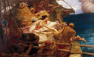 Absyrtus - The Golden Fleece by Herbert James Draper (1904)