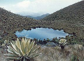 Laguna Las Mellizas, Parque Natural Las Hermosas