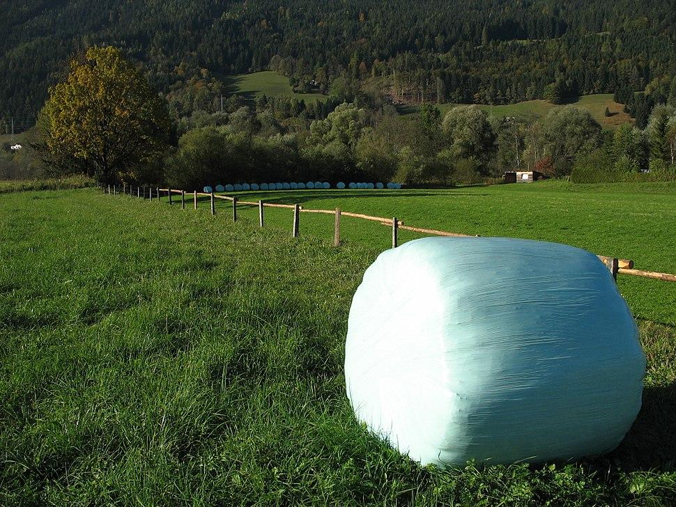 Heuballen Plastik Steiermark