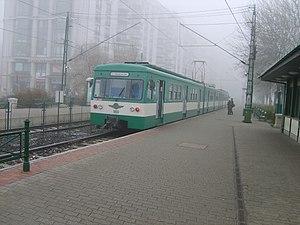 Line H7 (Budapest HÉV) - Image: Hev boraros