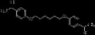 Hexamidine - Image: Hexamidine