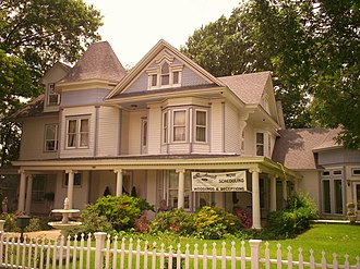 Broken Arrow, Oklahoma - Historic 1904 Victorian home on Main Street in downtown BA that has been converted into a business (July, 2007)