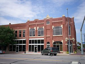 Broken Arrow, Oklahoma - Historic building on Main Street after a total restoration (June, 2007)