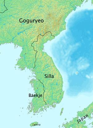 Jeolla Province - Baekje in 576.
