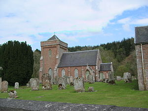 Hobkirk - Image: Hobkirk church 1